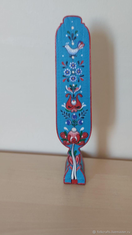 Прялка декоративная (онежская роспись), Народные сувениры, Санкт-Петербург,  Фото №1