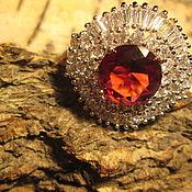 Украшения ручной работы. Ярмарка Мастеров - ручная работа кольцо 20 Турмалин. Handmade.