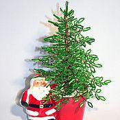 Цветы и флористика handmade. Livemaster - original item The Christmas tree. Handmade.