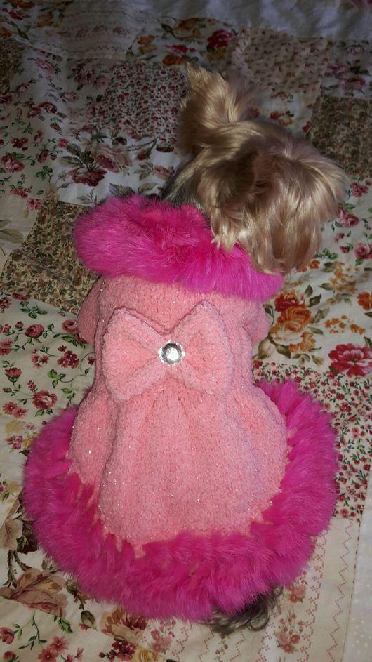 Одежда для собак, ручной работы. Ярмарка Мастеров - ручная работа. Купить Пальто Сударушка. Handmade. Ручная авторская работа