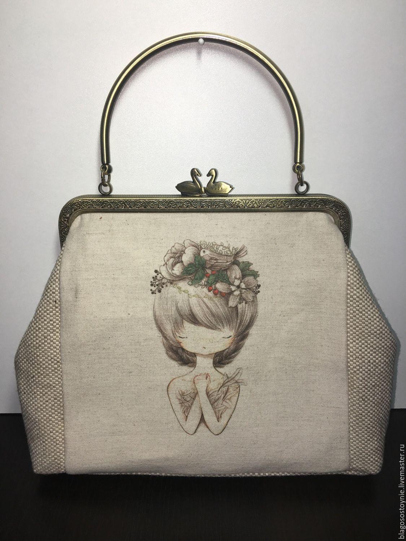 Livemaster - handmade. Buy Vintage style linen 17ae9bde8254d