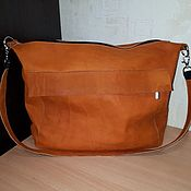 Classic Bag handmade. Livemaster - original item Bag genuine leather Model 18. Handmade.