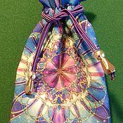 """Фен-шуй и эзотерика ручной работы. Ярмарка Мастеров - ручная работа Мешочек для карт таро """"Мандала"""". Handmade."""