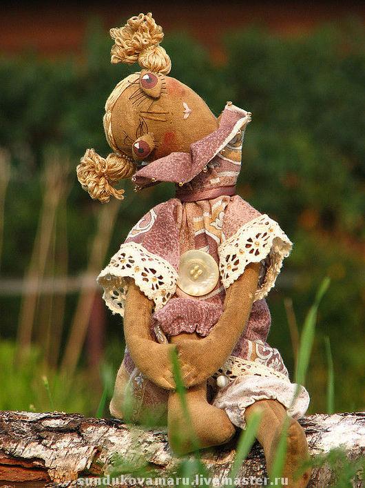 """Ароматизированные куклы ручной работы. Ярмарка Мастеров - ручная работа. Купить Авторская кофейная кукла """"Мечтательная Лиля"""". Handmade. счастье"""
