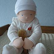 Куклы и игрушки ручной работы. Ярмарка Мастеров - ручная работа Младенец, текстильная кукла. Handmade.