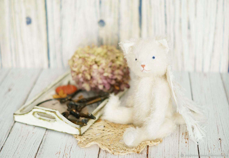 Тедди-кот Снежный Ангел, Игрушки, Москва, Фото №1