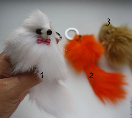 Куклы и игрушки ручной работы. Ярмарка Мастеров - ручная работа. Купить Лисичка, белочка. Handmade. Рыжий, белка, мех