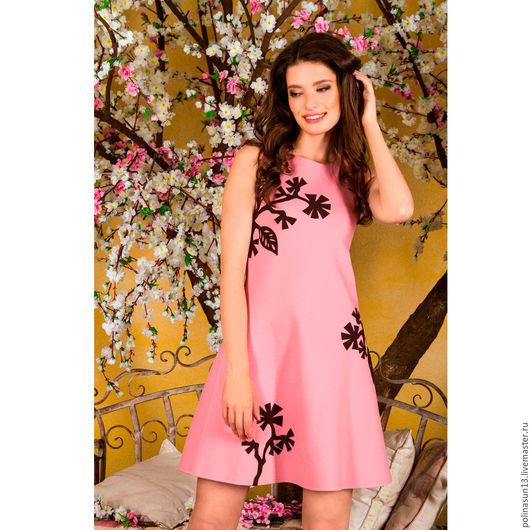 Платья ручной работы. Ярмарка Мастеров - ручная работа. Купить Платье Japan. Handmade. Бледно-розовый, пыльная роза, япония