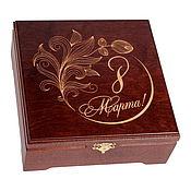 Сувениры и подарки handmade. Livemaster - original item box for packaging of perfume and cosmetic sets. Handmade.