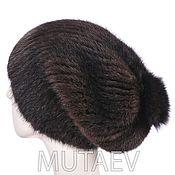 Аксессуары handmade. Livemaster - original item Women`s mink fur hat. Handmade.
