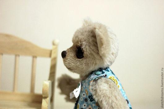 Мишки Тедди ручной работы. Ярмарка Мастеров - ручная работа. Купить Элечка. Handmade. Бежевый, мишки, hand made