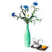 Цветы ручной работы. Ярмарка Мастеров - ручная работа Цветы из шелка. Букетик полевых цветов. Handmade.