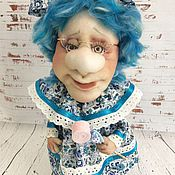 """Для дома и интерьера ручной работы. Ярмарка Мастеров - ручная работа Текстильная кукла  """"Чайная Бабушка-7"""" для чайных пакетиков. Handmade."""