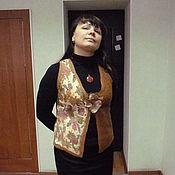"""Одежда ручной работы. Ярмарка Мастеров - ручная работа Жилет  """"Осень близка"""". Handmade."""