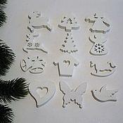Материалы для творчества ручной работы. Ярмарка Мастеров - ручная работа Фигурки из дерева ассорти 5 см. Handmade.