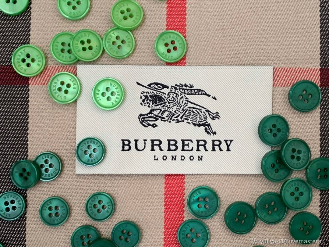Buttons in the style of Burberry, Buttons, Mytishchi,  Фото №1