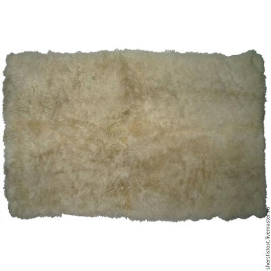 Текстиль, ковры ручной работы. Ярмарка Мастеров - ручная работа. Купить Ковер из 4-х овечьих шкур прямоугольной формы. Handmade.