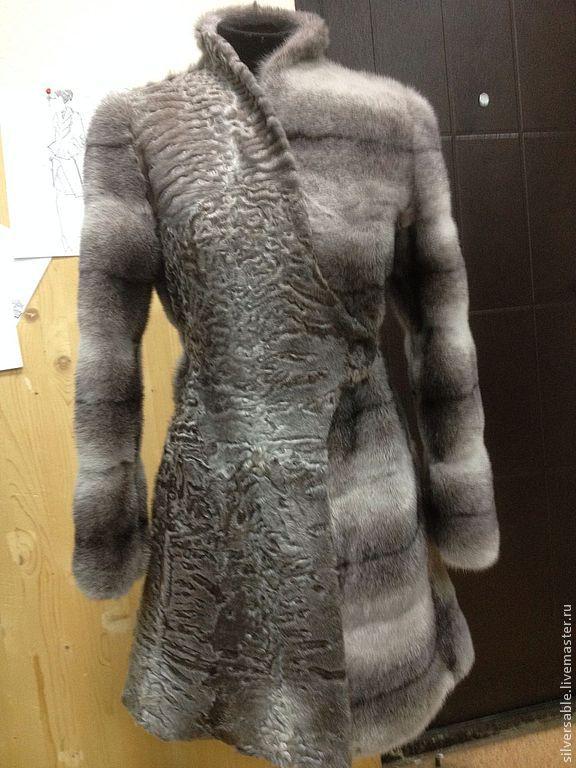1d58d6b1f63 Меховое пальто из норки и каракуля Swakara – купить в интернет ...