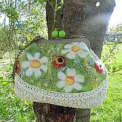 Сумки и аксессуары handmade. Livemaster - original item Copyright felted bag