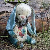 Куклы и игрушки ручной работы. Ярмарка Мастеров - ручная работа Волшебный цветок зайка тедди. Handmade.