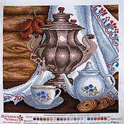 Картины и панно ручной работы. Ярмарка Мастеров - ручная работа Русское чаепитие. Handmade.