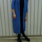 Одежда handmade. Livemaster - original item Knitted cardigan from mohair