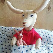 Куклы и игрушки handmade. Livemaster - original item Llama Red Pajamas. Handmade.