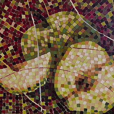 Картины и панно ручной работы. Ярмарка Мастеров - ручная работа Большая картина масло холст. Яблоки.. Handmade.