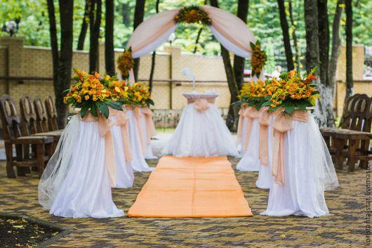 Свадебные цветы ручной работы. Ярмарка Мастеров - ручная работа. Купить Выездная регистрация-флористическое оформление. Handmade. Цветы
