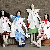 Куклы и игрушки ручной работы. Ярмарка Мастеров - ручная работа Тильда Доктор. Handmade.