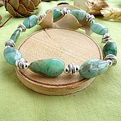 Украшения handmade. Livemaster - original item Bracelet with green beryl. Handmade.