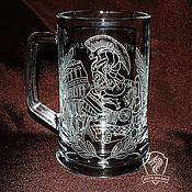 Посуда handmade. Livemaster - original item Gladiator. Beer mug.. Handmade.