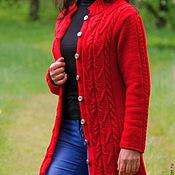 Одежда handmade. Livemaster - original item Knitted coat cardigan.. Handmade.