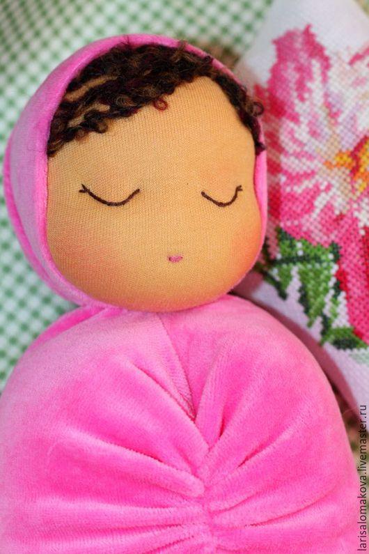 Вальдорфская игрушка ручной работы. Ярмарка Мастеров - ручная работа. Купить Куколка для засыпания и обнимания. Handmade. Вальдорфская кукла