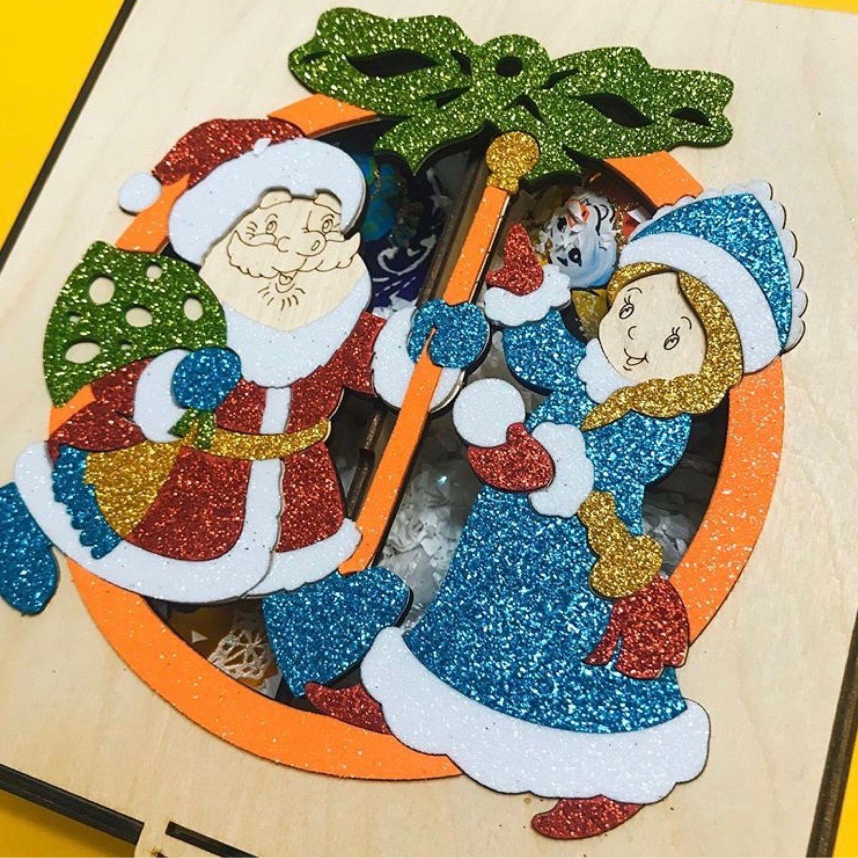 Подарочный бокс «Дед Мороз и Снегурочка», Изделия, Екатеринбург,  Фото №1