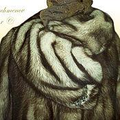 Одежда ручной работы. Ярмарка Мастеров - ручная работа Норковая шуба. Handmade.