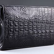 Сумки и аксессуары handmade. Livemaster - original item Women`s clutch bag crocodile leather IMA0052B2. Handmade.