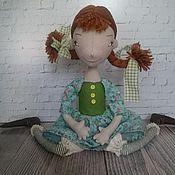Куклы и игрушки ручной работы. Ярмарка Мастеров - ручная работа Интерьерная текстильная кукла Пеппи. Handmade.