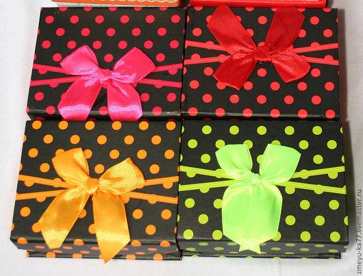 Подарочная упаковка ручной работы. Ярмарка Мастеров - ручная работа. Купить Коробочки с бантиком. Handmade. Подарочная упаковка, коробочка