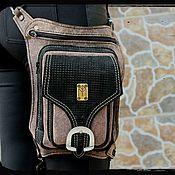 """Сумки и аксессуары ручной работы. Ярмарка Мастеров - ручная работа Мото-сумка """"Old granite"""". Handmade."""