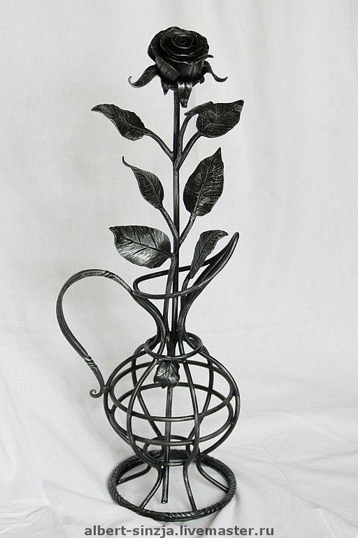 Кованые вазы картинки