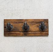 Для дома и интерьера handmade. Livemaster - original item Wall hanger for clothes in the style of Loft
