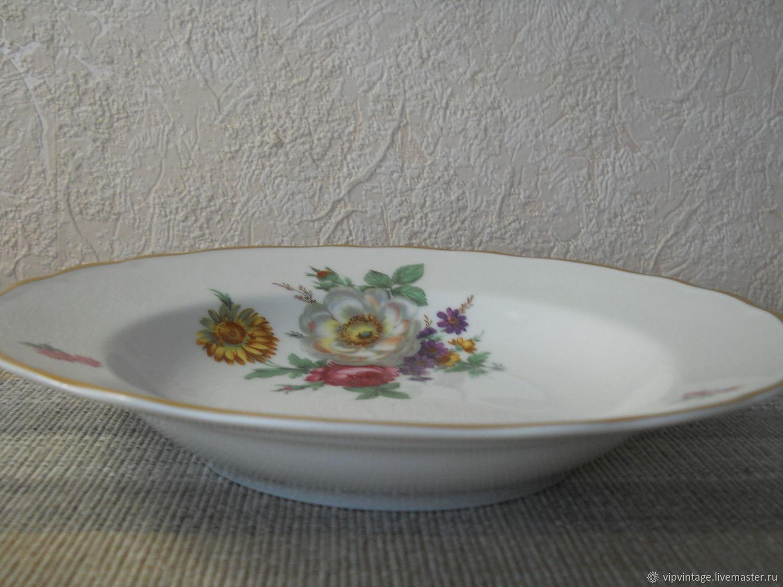 Винтаж: Глубокие обеденные тарелки  Tirschenreuth, Тарелки винтажные, Калининград,  Фото №1