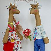 Жирафы Тим и Агата