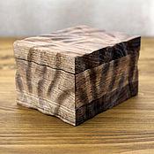 Свадебный салон handmade. Livemaster - original item Oak Box for wedding rings. Handmade.