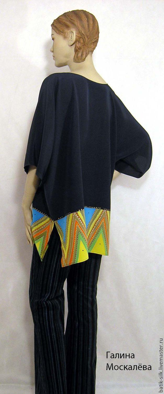 Натуральный шелк блузки купить в магазине