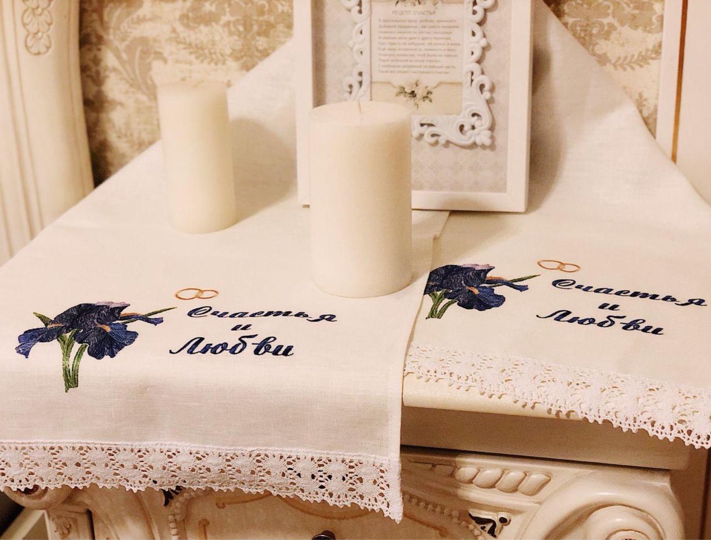Свадебный рушник на  заказ, Рушники свадебные, Москва,  Фото №1