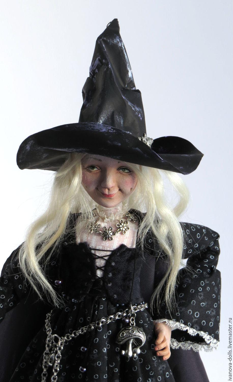 Авторская кукла. Ведьмочка, Куклы, Минск, Фото №1