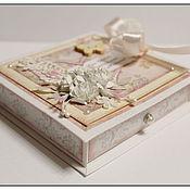 """Свадебный салон ручной работы. Ярмарка Мастеров - ручная работа Коробочка для денег """"Beige"""". Handmade."""