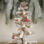 Подарки к праздникам handmade. Livemaster - original item TREE made of wooden sticks. Handmade.